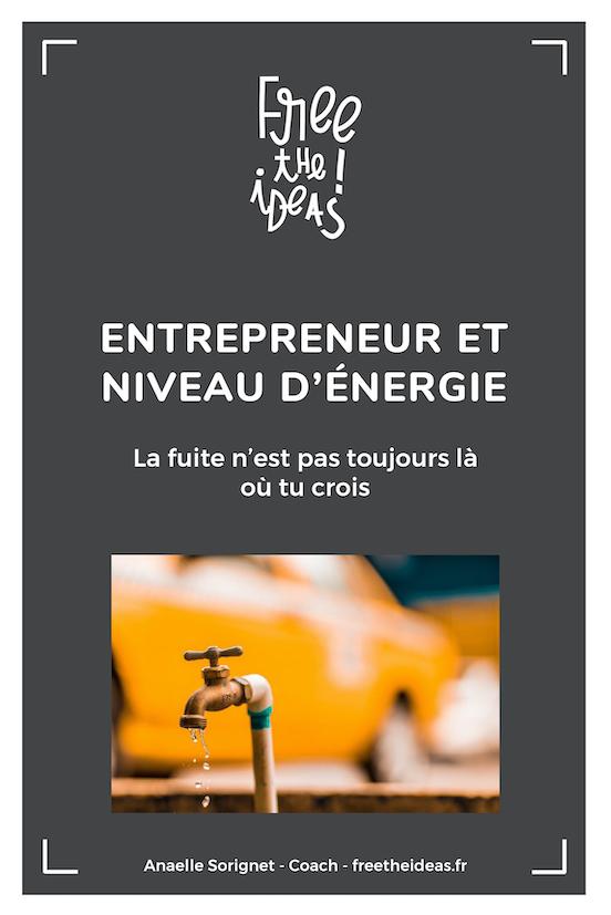 entrepreneur niveau d'énergie affirmation