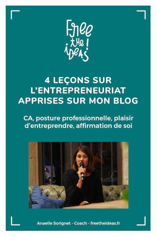 leçons entrepreneuriat blog
